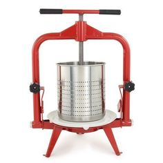 Fruit and Wine Press Apple Cider Harvest Stainless Steel Grape Crusher Making