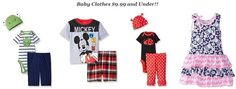 Baby+Clothes+$9.99+and+Under!!