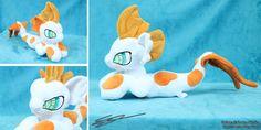 Spike ~ Baby Hippocampus Plushie by LiChiba