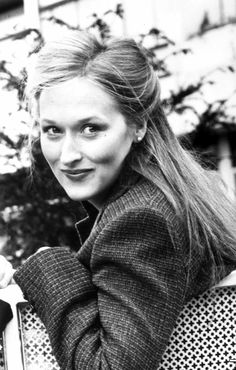 A very young and beautiful Meryl Streep.