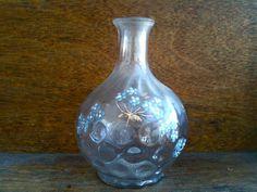Antique English Forgetmenot Bottle