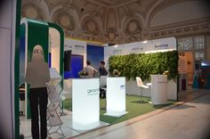Sanofi exhibition stand