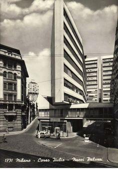 Corso Italia Complex. 1956., Milan, Italy. 1956. Luigi Moretti