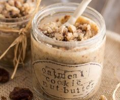 Oatmeal Cookie Dough Nut Butter Recipe   Paleo inspired, real food