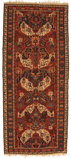 Sumakh Drachen dat. 1907 Herkunft: Kaukasus Länge: 355, Breite: 157
