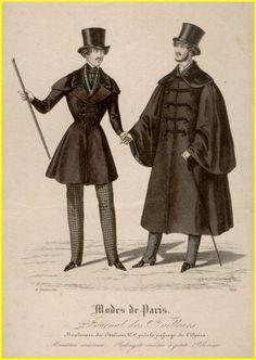 Men's fashion silhouette of 1837 - 1830s in Western fashion - Wikipedia, the free encyclopedia