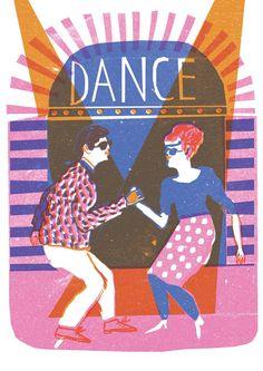 Dance - Louise Lockhart Illustration & Design