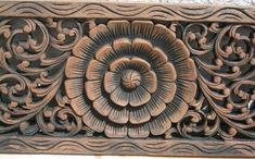 1' x 6' teak wood panel