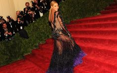 Beyonce's Givenchy Haute Couture gown worn at the 2012 Met Gala.