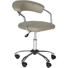 Safavieh Office Grey Pier Desk Chair