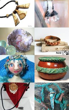 Eclectic Collection  by kate reeve on Etsy--Pinned with TreasuryPin.com
