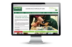 Davies vets website design @satcreative