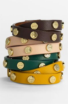 Adore these Tory Burch wrap bracelets. Have given them as gifts and everyone loves them. $95