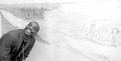 stephen wiltshire draws manhattan skyline from memory