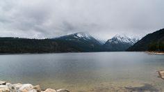 'Como Lake Montana' -  Cold Rainy Day
