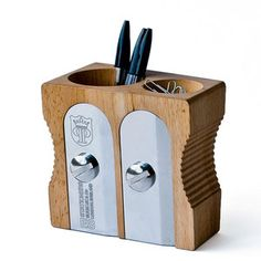 Twin Sharpener Desk Tidy, $38, now featured on Fab.