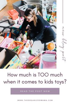 How can you tell if your kids have too many toys? My guess is that you do! So I have tips for how you can declutter toys with your kids. Playroom Organization, Organizing, Motor Planning, Declutter Your Life, Small Space Organization, Kid Closet, Inspiration For Kids, Do You Really, Decluttering