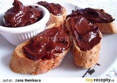 Nutela z avokáda recept - TopRecepty. Bellisima, French Toast, Healthy Living, Muffin, Pudding, Med, Healthy Recipes, Breakfast, Sweet