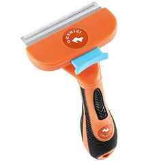 iPinkoo Pet Grooming Brush Tool  Ejector Button Fur Release With Ease  For Dog  Cat Deshedding Tool Reducing Shedding Up To 90 *** Learn more by visiting the image link.(This is an Amazon affiliate link and I receive a commission for the sales)