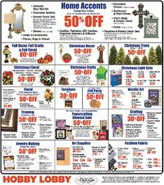 Hobby Lobby pre-Black Friday deals