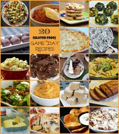 20 Gluten-Free Game Day Recipes for your next game day get together!