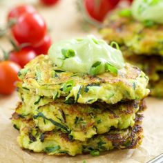 with avocado crema crispy fritters made healthier with flax seed and ...