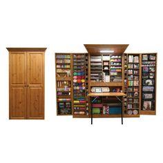 WorkBox / Bastelschrank – The Brand Box Handel & Vertrieb GmbH Craft Storage Ideas For Small Spaces, Craft Room Storage, Decorating Small Spaces, Craft Organization, Storage Bins, Locker Storage, Craft Rooms, Cabinet Storage, Storage Drawers