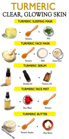 Turmeric is long known for its amazing skin care, hair care and health benefits. It is an amazing healing ingredient and has great anti-inflammatory, anti-microbial, [. Homemade Skin Care, Diy Skin Care, Homemade Face Moisturizer, Homemade Facials, Loción Facial, Facial Scrubs, Facial Cleanser, Clear Skin Face Mask, Face Masks