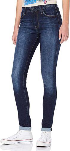 Empfehlenswert  Bekleidung, Damen, Jeanshosen Pepe Jeans, Soft Power, Jeans Store, Jeans Skinny, Stretch Denim, Legs, Fitness, Cotton, Pants