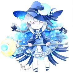 Blue sea witch