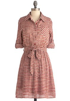 Love this shirtdress for work - the relaxed style is wonderful, and I love the fabric.