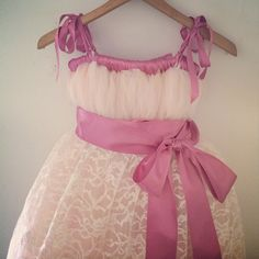 Check this item I am selling on Totspot, the resale shopping app for kids' clothes.   Floor length flower girl dress   Love this! #kidsfashion