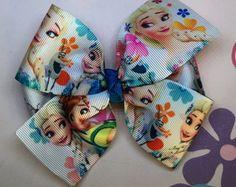 Laço Frozen Princesa Frozen