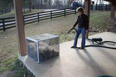 Diy alpaca fiber blow out box