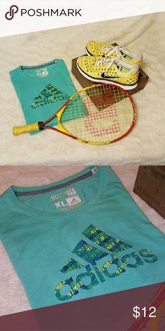 Adidas Ultimate Tee XL Soft, Comfortable and Cute, EUC! Adidas Tops Tees - Short Sleeve