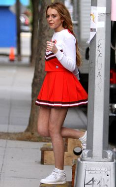 Lindsay Lohan from The Big Picture: Today's Hot Photos Prettiest Actresses, Beautiful Actresses, Emma Watson Legs, Reebok Freestyle, Female Actresses, Rachel Mcadams, Mean Girls, Girl Fashion, Fashion Design