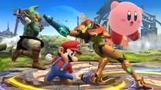 Over 100 Super Smash Bros. 3DS/Wii U Screenshots Right Here, Right Now