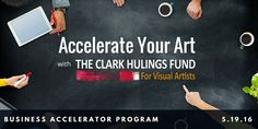The Clark Hulings Fund is launching their first Business Accelerator Workshop! Learn more! http://clarkhulingsfund.org/accelerator/