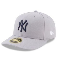 7969ff6361ca3 Men s New York Yankees New Era Gray 2017 Players Weekend Low Profile  59FIFTY Fitted Hat