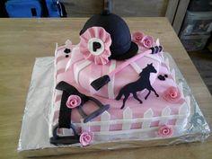 Gâteau équitation cheval …