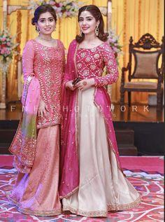 Shadi Dresses, Pakistani Formal Dresses, Pakistani Wedding Outfits, Pakistani Dress Design, Bridal Outfits, Indian Dresses, Wedding Dresses For Girls, Party Wear Dresses, Girls Dresses