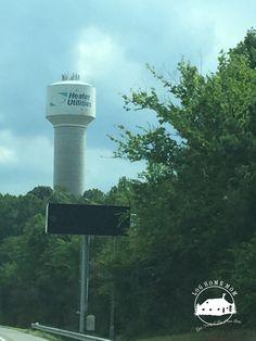 Water tower Heater Utilities Mooresville, NC