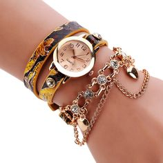 4 Colors New Fashion Ladies Women Dress Watch Quartz Wrist Watch PU Leather Casual Bracelet Watches Women