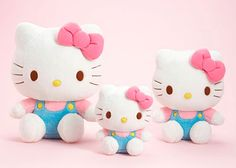 kawaii hello kitty plush