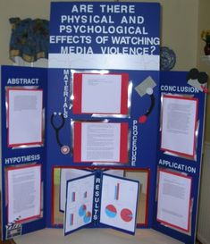 Image On Gender And Violence Science Fair Projects Display Board More