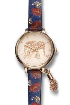 Embrace the traveller in you with our super cute elephant watch!