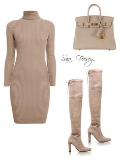 """""""Untitled #169"""" by sara-elizabeth-feesey on Polyvore featuring Rumour London, Stuart Weitzman and Hermès"""