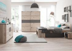 Moderná šatníková skriňa ROMEO v príjemnom farebnom odtieni wellington. Vo vnútri skrine sa nachádzajú vešiakové tyče. #byvanie #domov #nabytok #skrine #skrinespojazdom #modernynabytok #designfurniture #furniture #nabytokabyvanie #nabytokshop #nabytokainterier #byvaniesnov #byvajsnami #domovvashozivota #dizajn #interier #inspiracia #living #design #interiordesign #inšpirácia Divider, Furniture, Home Decor, Hijab Fashion, Room Ideas, Bedroom, Decoration Home, Room Decor, Home Furnishings