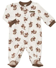 Carter's Baby Coverall, Baby Boys Monkey Footed Coverall - Kids - Macy's