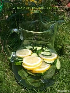 Odchudzająca woda - Sassy water Kobieceinspiracje.pl Sassy Water, Vestidos, Lace